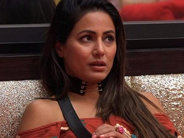 On Hina Khan