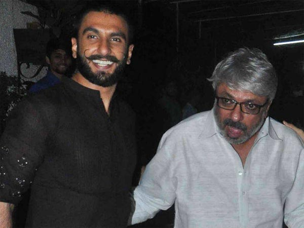 Bhansali Called Ranveer