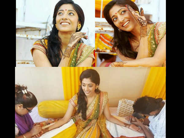 Pictures From Paoli's Mehendi Ceremony