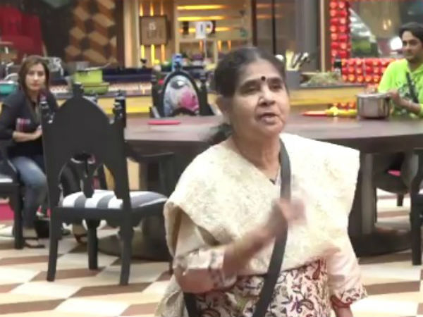 Shilpa's Mother Advises The Housemates