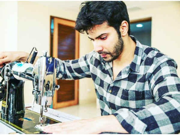 Varun Dhawan begins prepping up for his upcoming film Sui Dhaaga