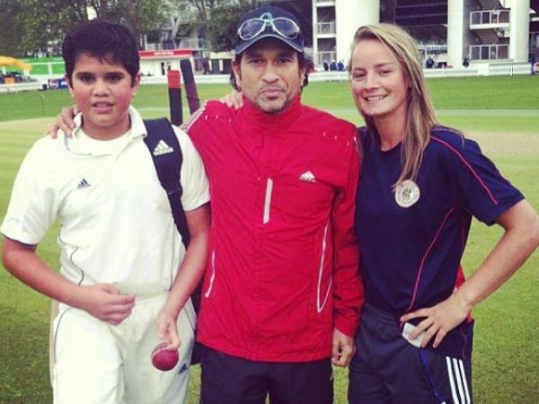 Danielle With The Tendulkar's