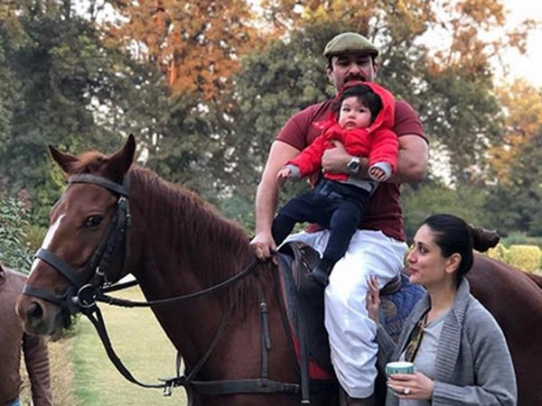 Saif ali khan and Kareena kapoor celebrating Taimur's First birthday, See Pics