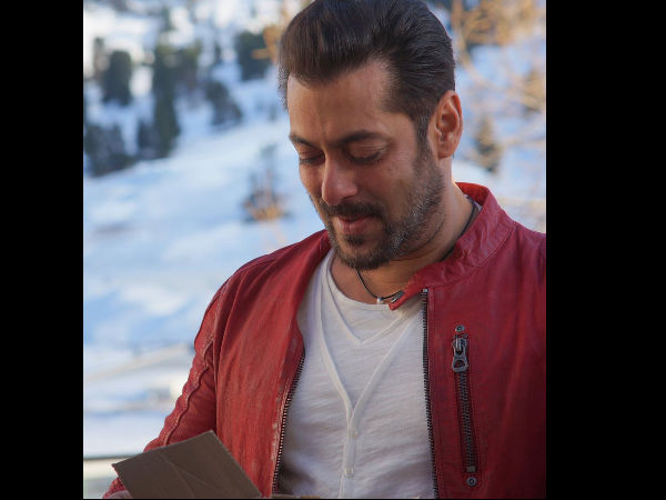 Salman Gives An Instance Of Tere Naam