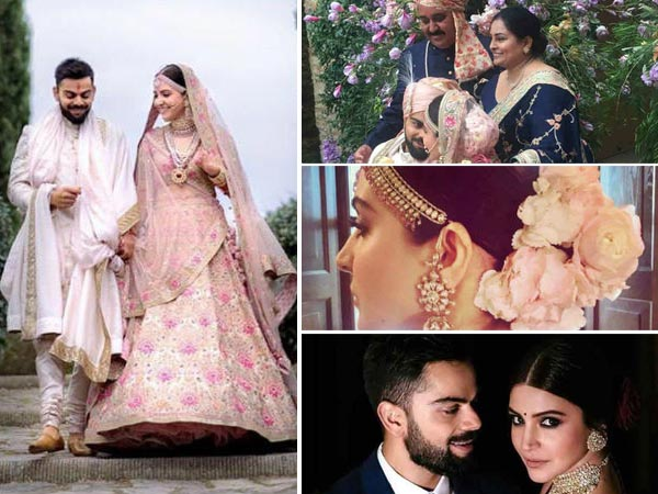 DREAMY INSIDE PICTURES! Anushka Sharma & Virat Kohli Look So Much In Love In NEW Wedding Snaps