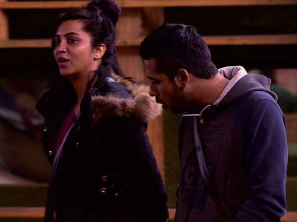 Puneesh, Vikas & Arshi Get Into An Argument