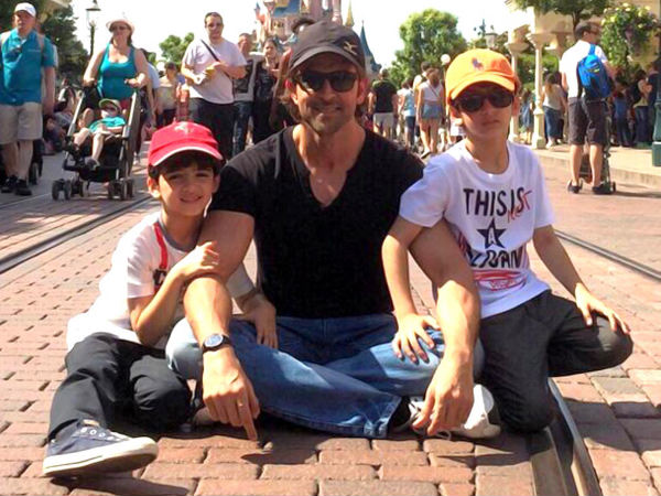 Hope My Kids Grow Up To Understand Value Of Service: Hrithik Roshan