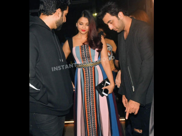 Aishwarya Spotted With Ranbir, While Salman With Katrina