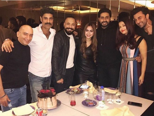 They Were Spotted At Bunty Walia's B'day Bash
