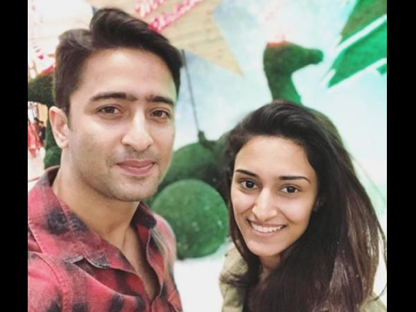Shaheer Wishes Erica!