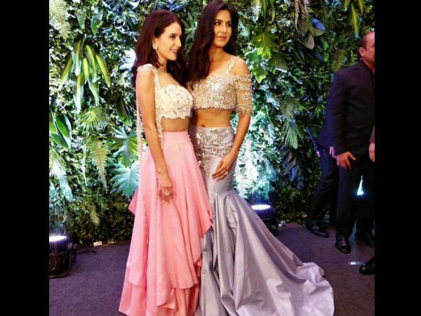 Katrina With Her Sister