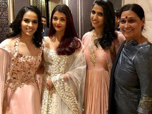 Aishwarya With Saina