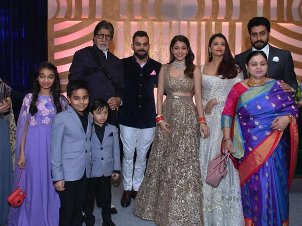 The Bachchans With Virushka