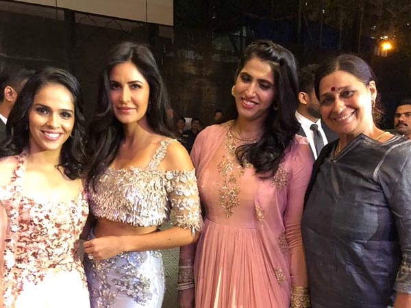 Katrina With Saina