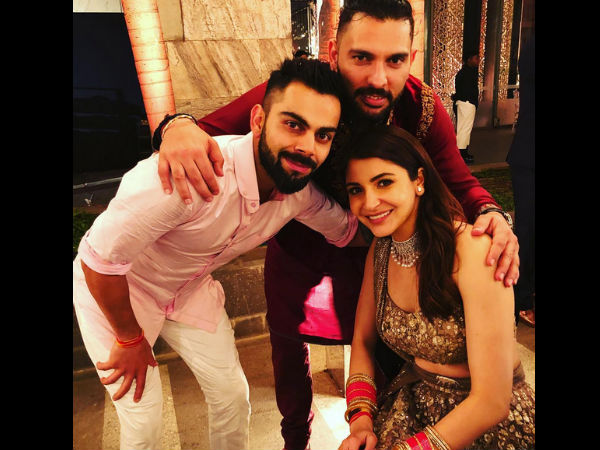 Yuvi With Virushka