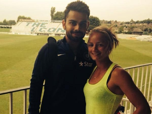 This Cricketer From England Once Proposed Virat Kohli, Now She Wishes Him A Happy Married Life!