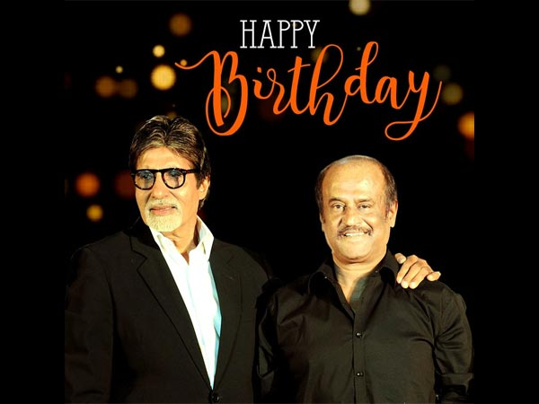 Superstar Rajinikanth's Birthday! Big B, Akshay Kumar, KJO & Madhavan Pour Their Wishes!