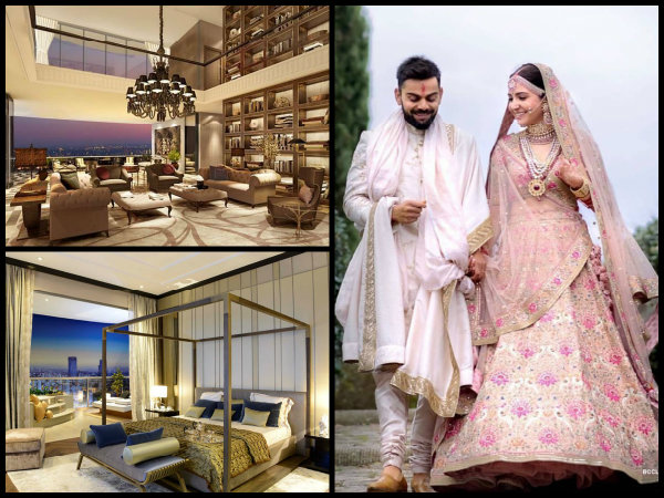 OH MY! Pictures Of Anushka Sharma-Virat Kohli's NEW Worli SEA-FACING Apartment Are Just Breathtaking