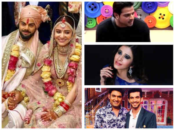 #VirushkaWEDDING: Karan Patel, Kapil Sharma, Arjun Bijlani & Other TV Celebs Wish Anushka & Virat!