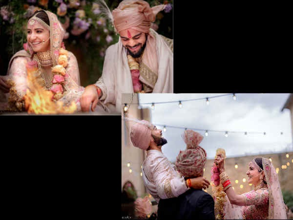 MAGICAL!  Virat Kohli & Anushka Sharma's Wedding Photos Look Straight Out Of A Fairy-Tale