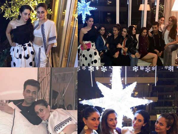 INSIDE PHOTOS: Kareena Kapoor Khan & Her Squad PARTY HARD At Malaika Arora's Pre-Christmas Bash!