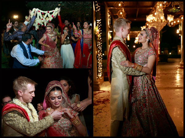 BREATHTAKINGLY B'FUL! See Inside Pictures From Aashka Goradia & Brent Goble's Indian Wedding Now!