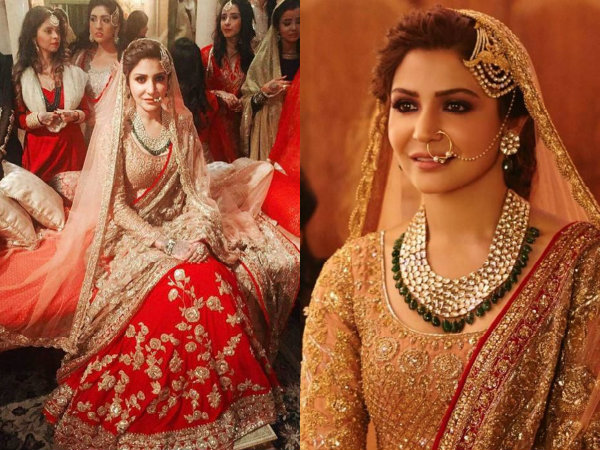 Wedding Tales! 10 Pictures Of Anushka Sharma Dressed As A Beautiful Bride