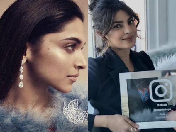 Deepika Padukone Watch Out! Priyanka Chopra Crosses 20 Million Followers On Instagram