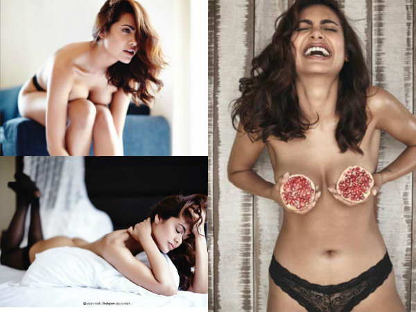 SAD! Esha Gupta Deletes Her Topless Pomegranate, Cleavage & Butt Pictures On Instagram!