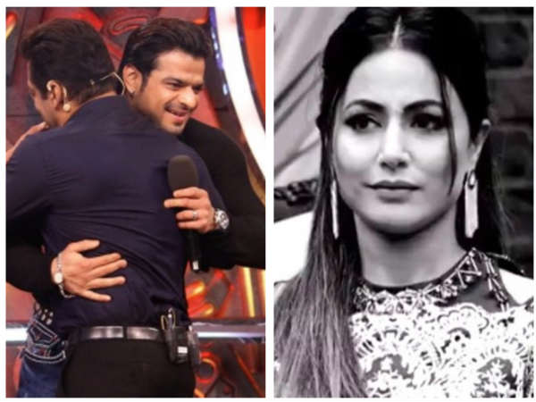 Bigg Boss 11: Karan Patel Slams Hina Khan & Fans Are Loving It; #Karan Trends On Twitter