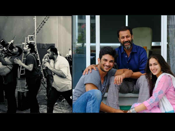 ALL GUNS BLAZING! Abhishek Kapoor Films A Difficult Scene For Sushant- Sara's Kedarnath