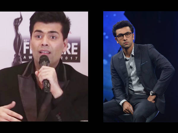 OMG! When Karan Johar BLASTED Ranbir Kapoor For Checking His Phone