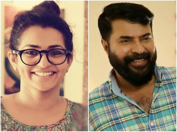 Here's Mammootty's First Response On Parvathy Controversy!