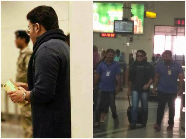 IN PICS! Mohanlal's Airport Look Has Gone Viral On Social Media!