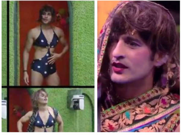Bigg Boss 11: After Luv, Now Hiten & Priyank Dress Up As Women; Fans Can't Stop Laughing!