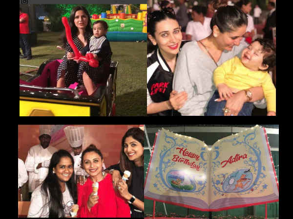 INSIDE ADIRA'S B'DAY PARTY! From Katrina Kaif's 'Adorable' Date To Taimur's Cute Poses [PICS]