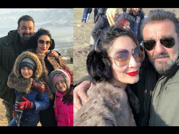 Also Read : SO SWEET! Sanjay Dutt Had Special Visitors On The Sets Of His Upcoming Film 'Torbaaz'!