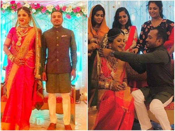 IN PICS! Soubin Sahir Ties The Knot With Jamia!
