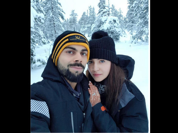 OH MY! Anushka Sharma Shares A Pic With Virat Kohli From Their Honeymoon & We Can't Stop Drooling!
