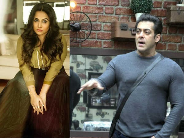 UNEXPECTED! Did Salman Khan Just BODY-SHAME Vidya Balan With This Comment?