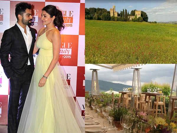 Virat Kohli- Anushka Sharma Wedding! Their 'Rumoured' D-Day Location Looks SURREAL! [PICS]