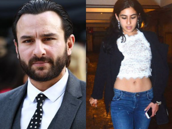 Saif Thinks Sara Became An Actor For This Reason