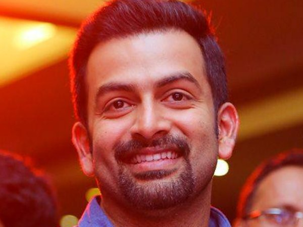 A Busy Schedule For Prithviraj..