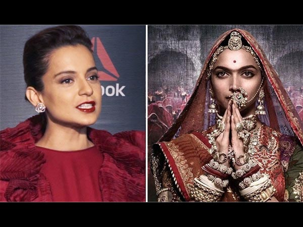 Kangana Ranaut Talks About Rival Deepika Padukone's Film! Here's What She Said About Padmaavat