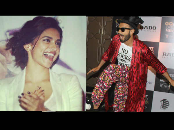 Deepika Padukone is done with Ranveer Singh's 'outrageous clothes'