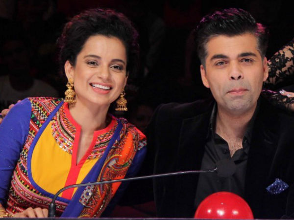 Here's How Karan Reacted To Working With Kangana
