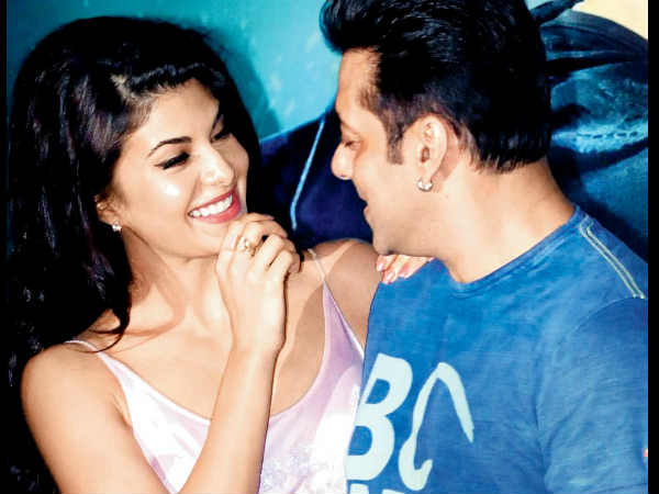 When Jacqueline Fernandez Canned Her First Shot With Salman Khan For Race 3