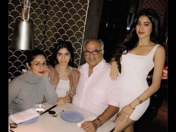 Janhvi Trying To Be Herself: Boney Kapoor On Comparisons With Sridevi