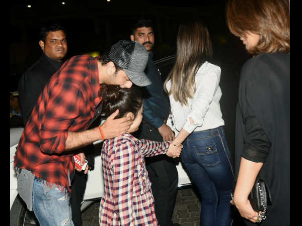 The Kapoor Family Went For A Dinner