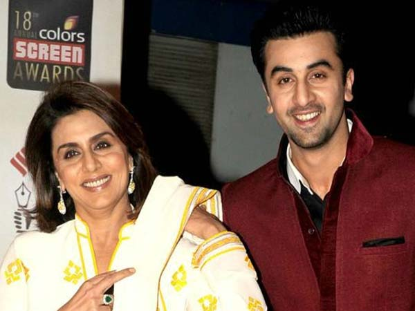 She Took A Picture With Neetu & Ranbir But...